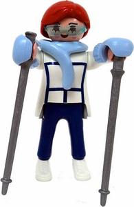 Playmobil Fi?ures Series 1 LOOSE Mini Figure Skiier