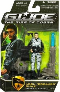 GI Joe Movie The Rise of Cobra 3 3/4 Inch Action Figure Abel