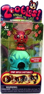 Zoobles Toy Petagonia Animal Mini Figure #40 Jumphrey