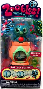 Zoobles Toy Petagonia Animal Mini Figure #41 Cesealia