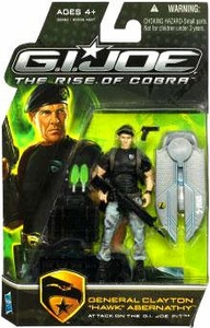 GI Joe Movie The Rise of Cobra 3 3/4 Inch Action Figure General Clayton
