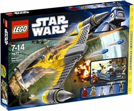 LEGO Star Wars Exclusive Set #7877 Naboo Starfighter