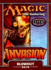 Magic the Gathering Invasion Theme Deck Blowout