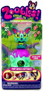 Zoobles Toy Petagonia Animal Mini Figure #8 Doglas