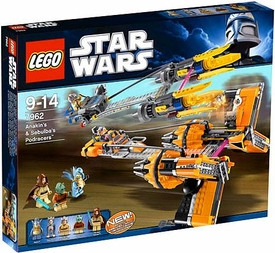 LEGO Star Wars Set #7962 Anakin & Sebulbas Podracers