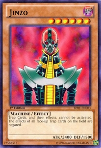 YuGiOh Battle Pack: Epic Dawn Single Card Rare BP01-EN003 Jinzo