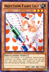 YuGiOh Battle Pack: Epic Dawn Single Card Rare BP01-EN004 Injection Fairy Lily