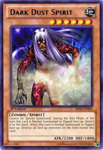 YuGiOh Battle Pack: Epic Dawn Single Card Rare BP01-EN005 Dark Dust Spirit