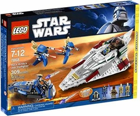 LEGO Star Wars Exclusive Set #7868 Mace Windu's Jedi Starfighter