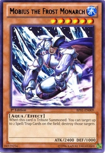 YuGiOh Battle Pack: Epic Dawn Single Card Rare BP01-EN009 Mobius the Frost Monarch