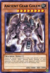 YuGiOh Battle Pack: Epic Dawn Single Card Rare BP01-EN011 Ancient Gear Golem