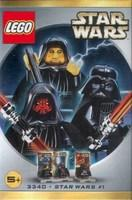 LEGO Star Wars Mini Figure Set #3340 Darth Maul, Darth Vader & Palpatine