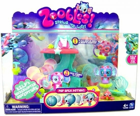 Zoobles Toy Playset Kelp's Underwater Adventure [Includes 1 Zooble]