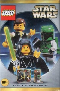 LEGO Star Wars Mini Figure Set #3341 Luke Skywalker, Han Solo & Boba Fett