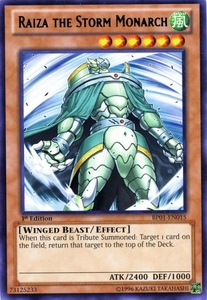 YuGiOh Battle Pack: Epic Dawn Single Card Rare BP01-EN015 Raiza the Storm Monarch