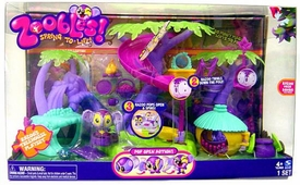 Zoobles Toy Playset Razoo's Treehouse [Includes 1 Zooble]