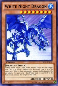 YuGiOh Battle Pack: Epic Dawn Single Card Rare BP01-EN016 White Night Dragon