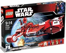 LEGO Star Wars Exclusive Limited Edition Set #7665 Republic Cruiser