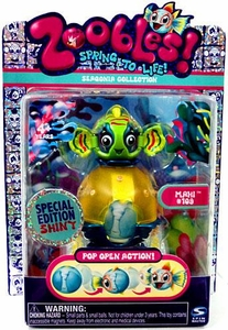 Zoobles Toy Petagonia Animal Special Edition Shiny Mini Figure #109 Mahi