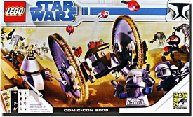 LEGO Star Wars Exclusive Set 2008 SDCC San Diego Comic-Con Clone Wars [#7670, #7654 with 4 Clone Troopers & Captain Rex] Only 1,200 Made!