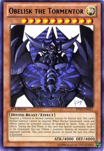 YuGiOh Battle Pack: Epic Dawn Single Card Rare BP01-EN021 Obelisk the Tormentor