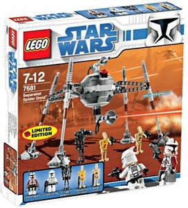 LEGO Star Wars Exclusive Set #7681 Separatist Spider Droid