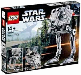 LEGO Star Wars Exclusive Set #10174 Imperial AT-ST [All Terrain Scout Transport]