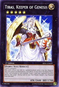 YuGiOh Battle Pack: Epic Dawn Single Card Rare BP01-EN029 Tiras, Keeper of Genesis