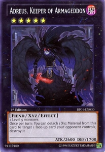 YuGiOh Battle Pack: Epic Dawn Single Card Rare BP01-EN030 Adreus, Keeper of Armageddon