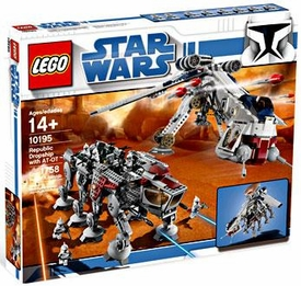 LEGO Star Wars Exclusive Set #10195 Republic Dropship with AT-OT Walker