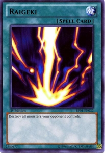 YuGiOh Battle Pack: Epic Dawn Single Card Rare BP01-EN032 Raigeki
