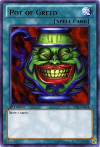 YuGiOh Battle Pack: Epic Dawn Single Card Rare BP01-EN034 Pot of Greed