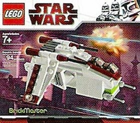 LEGO Star Wars BrickMaster Exclusive Set #20010 Republic Attack Gunship [Bagged]