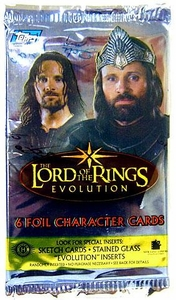 Topps Lord of the Rings Evolution Trading Card Pack