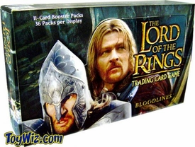 Lord of the Rings Card Game Bloodlines Booster BOX [36 Packs]