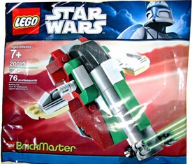 LEGO Star Wars BrickMaster Exclusive Set #20019 Boba Fett Slave I [Bagged]