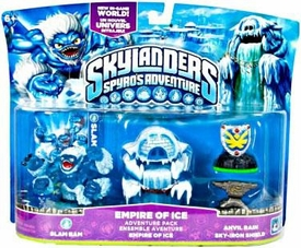 Skylanders Adventure Pack Empire of Ice [Slam Bam, Empire of Ice, Anvil Rain & Sky-Iron Shield]