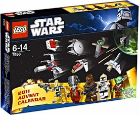 LEGO Star Wars Set #7958 2011 Star Wars Advent Calendar