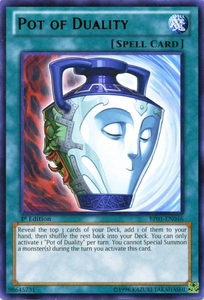 YuGiOh Battle Pack: Epic Dawn Single Card Rare BP01-EN046 Pot of Duality