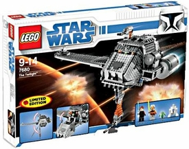 LEGO Star Wars Exclusive Limited Edition Set #7680 The Twilight Damaged Package, Mint Contents!