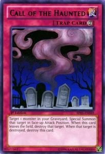 YuGiOh Battle Pack: Epic Dawn Single Card Rare BP01-EN049 Call of the Haunted