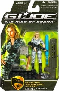 GI Joe Movie The Rise of Cobra 3 3/4 Inch Action Figure Courtney