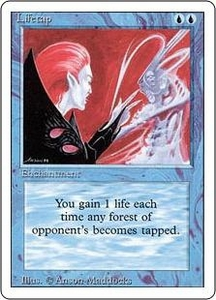 Magic the Gathering Revised Edition Single Card Uncommon Lifetap