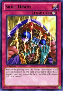 YuGiOh Battle Pack: Epic Dawn Single Card Rare BP01-EN053 Skill Drain