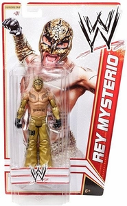 Mattel WWE Wrestling Basic Series 13 Action Figure #1 Rey Mysterio BLOWOUT SALE!