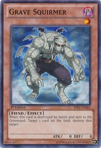 YuGiOh Battle Pack: Epic Dawn Single Card Common BP01-EN062 Grave Squirmer