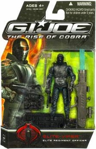 GI Joe Movie The Rise of Cobra 3 3/4 Inch Action Figure Elite-Viper [Elite Regiment Officer]