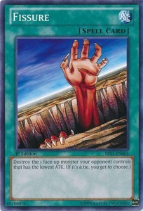 YuGiOh Battle Pack: Epic Dawn Single Card Common BP01-EN065 Fissure