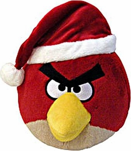 Angry Birds CHRISTMAS 8 Inch DELUXE Plush Figure Red Bird