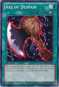 YuGiOh Battle Pack: Epic Dawn Single Card Common BP01-EN067 Axe of Despair